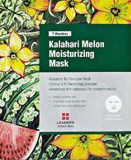 7 WONDERS By Leaders Kalahari Melon Moisturizing Bio Cellulose Mask 1PC Sealed!