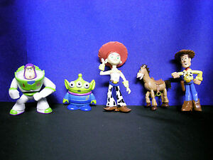 Toy Story Cake Toppers Toy Story Figures Woody Buzz Alien Jessie Bullseye 5 Pack