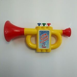 TOMY Little Tooter Trumpet Vintage Toy Plays Mary Had a Little Lamb