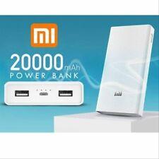 Original 20000mah Xiaomi Power Bank External Battery Portable Charger Dual USB