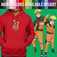 Pullover Sweatshirt Hoodie Sweater Naruto Uzumaki Shippuden Anime Manga Ninja