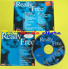 CD REALLY FREE compilation 94 PROMO PRIMAL SCREAM SUEDE OASIS (C1)no lp mc dvd