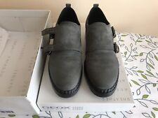 Geox Ladies Shoes , Size 37.5 ,(5uk),Dark Grey, Used.