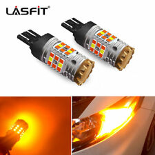 LASFIT 7443 7444 Anti Hyper Flash LED Turn Signal Light Switchback Amber White