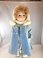 "DOLLS BY JERRI 20"" KATIE Porcelain Doll - 1982 - 821"