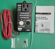 Wayne water systems FloodAlert ® Electronic sump pump control switch and alarm