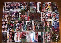 (174) JERRY RICE MIXED FOOTBALL CARD LOT HOF LEGEND!!