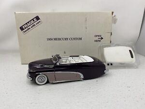 1/24 Danbury Mint 1950 Mercury Custom Lead Sled Purple READ ME