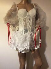 Sexy Bride Costume Burlesque Cosplay Fancy Dress Party Bedroom Fun Medium