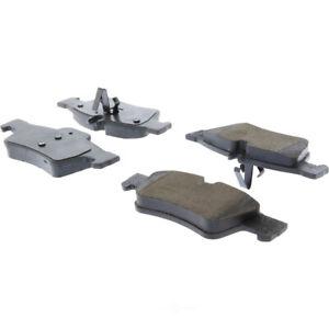 Disc Brake Pad Set-Premium Ceramic Pads with Shims and Hardware Rear Centric