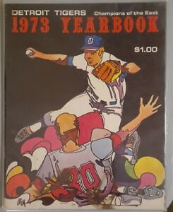 1973 Detroit Tigers Yearbook Champions Of The East Magazine