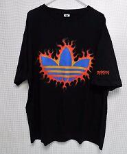 vtg adidas Tennis T Shirt Too Hot to Handle 90s hip hop XL NOS rare agassi tee