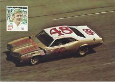 "1966 JIM HURTIBISE /""PLYMOUTH/"" #56 RETRO NASCAR POSTCARD"