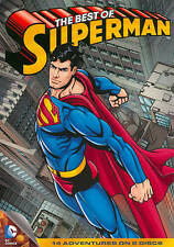 DVD The Best of Superman 2 Disc Set 14 Adventures NEW SEALED