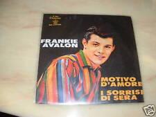 "FRANKIE AVALON SANREMO'64 ""MOTIVO D'AMORE - I SORRISI DI SERA "" ITALY"