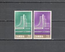 S6675 - ZAMBIA 1966 - SERIE COMPLETA ** UNIVERSITA' - VEDI FOTO