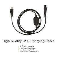 USB Charging cable / Ladekabel für Philips Rasierer und Haarschneider (135 cm)