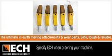 5KC3SB/SF Mini Loader & 4 in 1 Bobcat Bucket Teeth & Adapter Pack of 5 with Pins