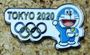 Olympic Games Tokyo Japan 2020 DORAEMON Mascot pin