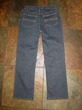 "917 J Jill Low Rise Stretch Dark Denim Boot Leg Jeans Size 4P/28"" EUC"