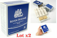 2x 500g EMERGENCY FOOD RATION MEAL SURVIVAL BISCUITS SEVEN OCEANS NORWAY MRE SOS