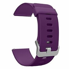 Fitbit Blaze Smart Watch Band, Soft Silicone Strap with Quick Release Pin
