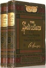 RARE! 1889 THE SALT CELLARS CHARLES SPURGEON PROVERBS JESUS GOD BIBLE NEAR FINE