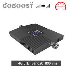 Goboost 4G LTE 800MHz Band20 Handy-Signalverstärker phone Repeater Booster Daten