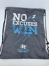 NEW Empire Paintball Z2 Loader NO EXCUSES WIN - Promo Drawstring Backpack Bag