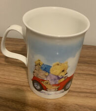 More details for roy kirkham vintage teddies bone china mug with teddies in vintage car design