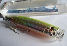 Noeby leurre Popper 15cm 54,5g nage surface couleur chartreuse