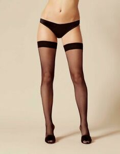 agent provocateur Apollo Fishnet Seamed Hold Up Black| PACK OF 10 Size S Box(49)