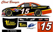 CD_1183 #15 Clint Bowyer 2012 5-Hour Energy Camry 1:64 Decals     ~OVERSTOCK~