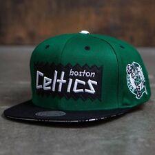 BAIT x NBA x Mitchell And Ness Boston Celtics STA3 Wool Snapback Cap (green / bl