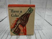 Vintage 1950's Coca Cola Matchbook Have A Coke UNUSED New Old Stock NOS Matches