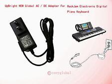 AC Adapter For RockJam  54-Key & 61-Key Electronic Digital Keyboard Power Supply