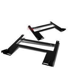 FOR 05-10 CHEVY COBALT/PONTIAC G5 MILD STEEL RACING SEATS LOW MOUNT BRACKET RAIL