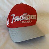 Vintage Indiana Hoosiers Snapback Hat Cap College Sports Specialties Script