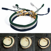 Lucky Handmade Buddhist Knots Rope Bracelet Tibetan Bracelet Best Gift