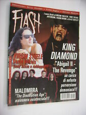 FLASH METAL MAGAZINE #156 - KING DIAMOND - VIRGIN STEELE - GLENN HUGHES