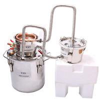 DIY 3 Faitout Maison Distillateur Alambic Thermomètre Eau Alcool Huile Brassage