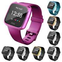 ULTRA-THIN FRAME GUARD SCREEN PROTECTOR SMARTWATCH COVER FOR FITBIT VERSA LITE