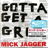 MICK JAGGER-GOTTA GET A GRIP/ENGLAND LOST-JAPAN MINI LP CD A94