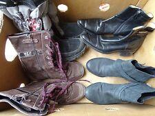 Damen Winter Schuhe-8 Paar im SET Gr.36- für Wiederverkäufer-DWS-36-002