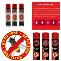 300ML STRONG TOX KILLER SPRAY AEROSOL FLYING CRAWLING INSECT INSECTICIDE HOME