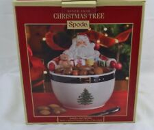 Spode Christmas Tree Nut Bowl New in Box Sealed