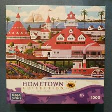 Hometown Collection Hotel Del Coronado 1000 Piece Jigsaw Puzzle NEW! Mega Brands