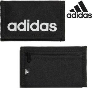 Adidas Wallet Essentials Logo Wallet Black Cash Money