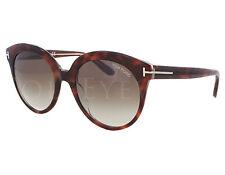 NEW Tom Ford FT0429-56F TF 429 Monica Havana / Brown Gradient Sunglasses