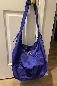 Lululemon Purple Duffle Workout Bag